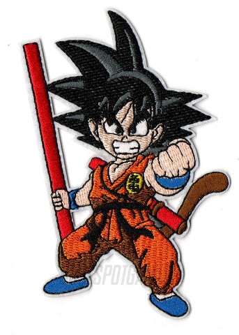 Son Goku Dragon Ball Z Embroidered Patch