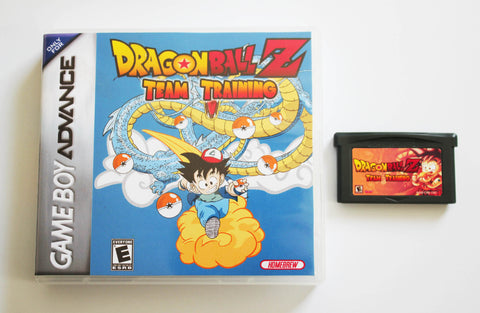 Dragon Ball Z Team Training for GBA