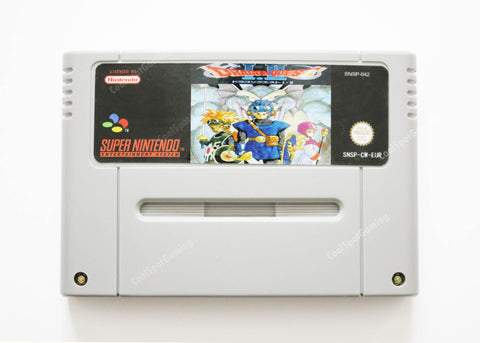 Dragon Quest 1 & 2 - English Translation - SNES PAL/EUR