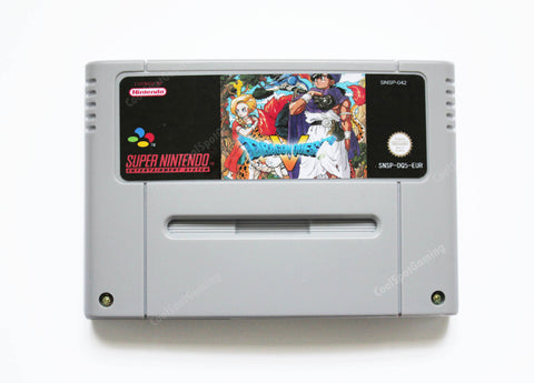 Dragon Quest 5 - English Translation - SNES PAL/EUR