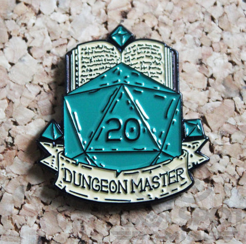Dungeon Master (D&D) - Pin Badge