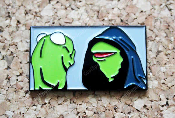 Evil Kermit - Enamel Pin Badge