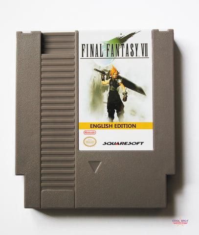 Final Fantasy 7 NES Demake (English Language & Region-Free)