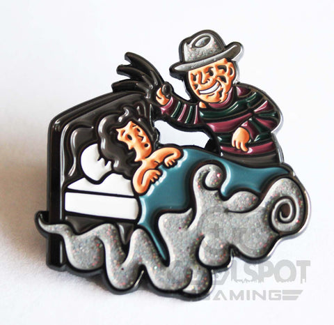 Nightmare on Elm Street Vault Boy Crossover Pin Badge