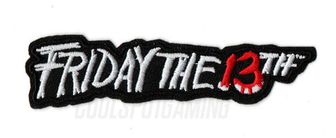 Friday the 13th Logo - Sew/Iron On Patch