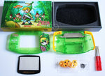 Game Boy Advance (GBA) Complete Housing Shell Kit & Presentation Box *IPS Ready* - Zelda
