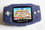 Game Boy Advance IPS V2 Console - Indigo Purple (+ Adjustable Brightness)