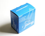 Game Boy Advance SP Replacement Empty Console Box - Blue
