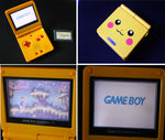 Game Boy Advance SP - Pikachu Edition Console + Rayman Game