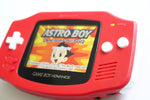 Game Boy Advance IPS V2 Console - Red and White (+ Adjustable Brightness)