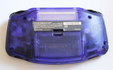 Game Boy Advance IPS V2 Console - Clear Midnight Blue and Black (+Adjustable Brightness)