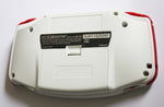 Game Boy Advance IPS V2 Console - White and Red (+Adjustable Brightness)