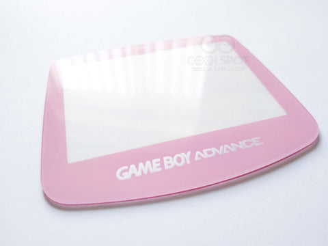 Game Boy Advance (GBA) Glass Screen Lens - Baby Pink