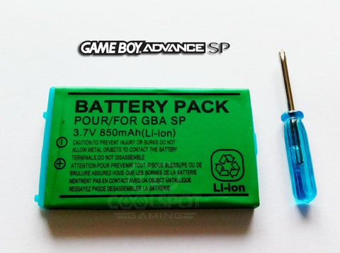 Game Boy Advance SP Replacement Battery 850mAh