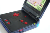 Game Boy Advance SP IPS V2 Console - Clear Black(+ Adjustable Brightness)