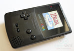Game Boy Colour LCD IPS Backlight Console - Adjustable Brightness - Black