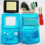 Game Boy Colour Replacement Housing Shell Kit - Clear Electric Blue