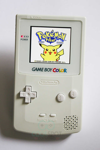 Game Boy Colour FULL SCREEN IPS LCD Backlight White - Adjustable Brightness