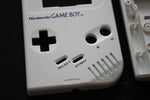 Original DMG Game Boy Replacement Housing Shell Kit - Cream/Pearl White