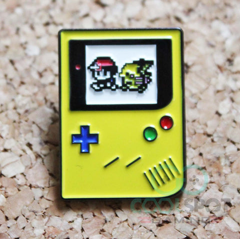 Game Boy Colour Pokemon Pin Badge