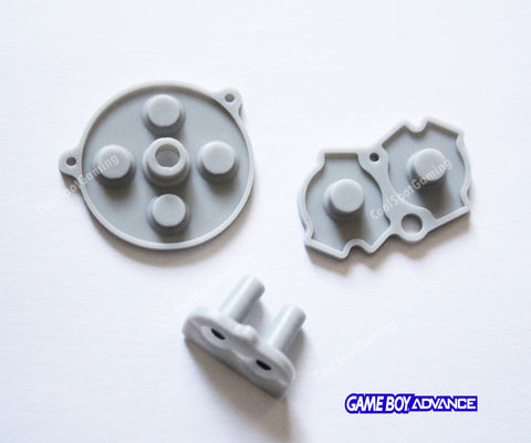 Game Boy Advance (GBA) Replacement Conductive Buttons