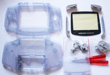 Game Boy Advance (GBA) Replacement Housing Kit - Clear Purple