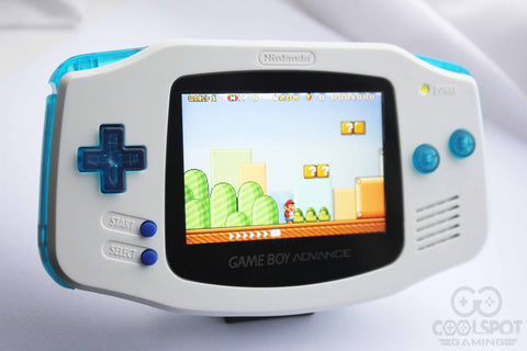 Game Boy Advance IPS V2 Console - Cool Ice!