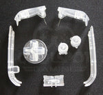 Game Boy Advance (GBA) Replacement Buttons - Clear Transparent