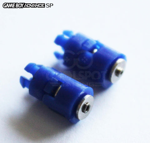 Game Boy Advance SP Hinge Barrel Replacements (Pair of 2)
