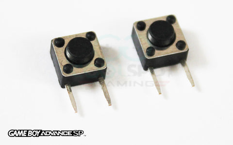 Game Boy Advance SP Replacement Shoulder Button Switches