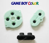 Game Boy Colour Conductive Rubber Silicone Buttons