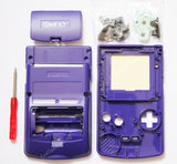 Game Boy Colour Replacement Housing Shell Kit - Purple