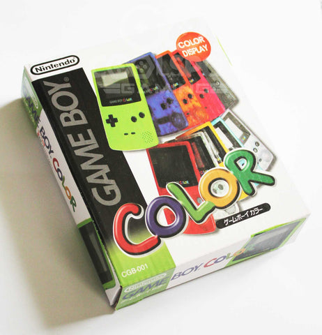 Game Boy Colour Replacement Japanese Console Box