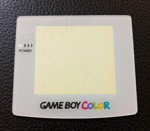 Game Boy Colour Replacement Plastic White Screen Lens