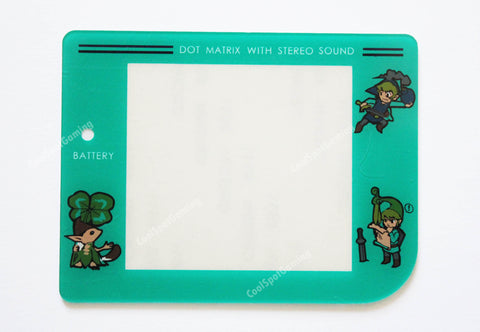 Original Game Boy (DMG) New Replacement Screen - Zelda Design