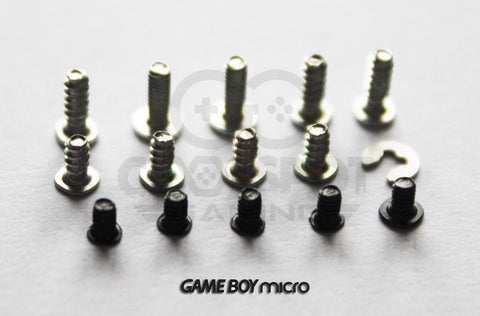 Game Boy Micro Replacement Screw Set