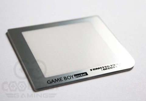 Game Boy Pocket Replacement Famitsu Chrome Silver Lens