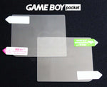 2 x Game Boy Pocket Screen Protectors