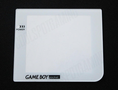 White Replacement Lens Screen for Game Boy Pocket