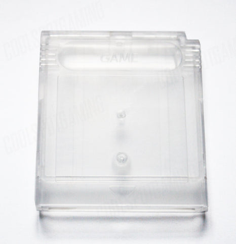 Game Boy / Game Boy Colour Replacement Empty Cartridge Shell - Clear Transparent - Type B