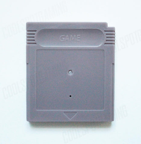 Game Boy / Game Boy Colour Replacement Empty Cartridge Shell - Grey
