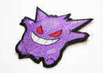 Gengar Pokemon Embroidery Patch