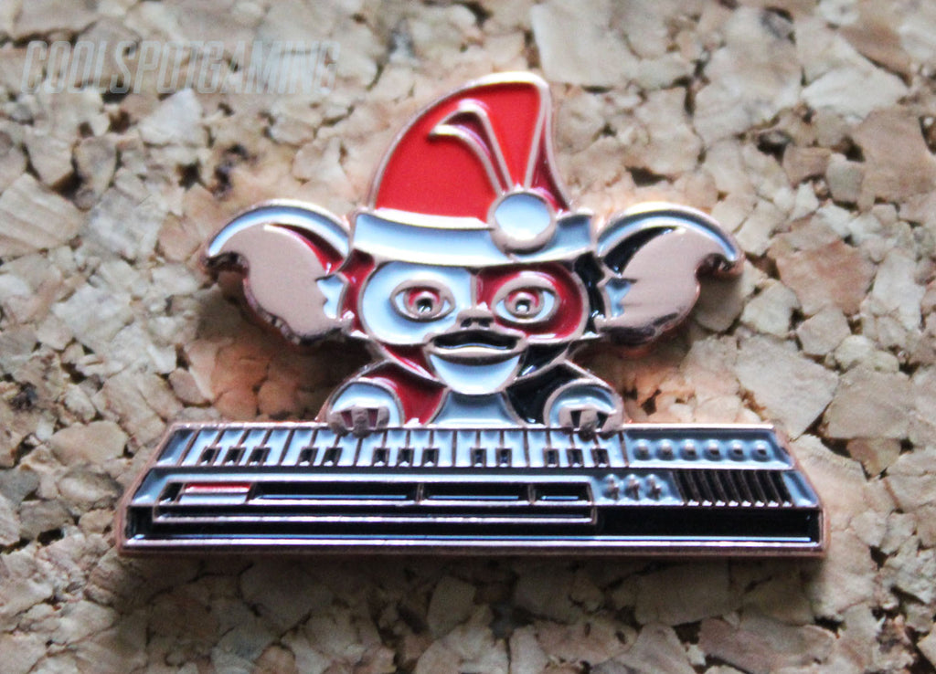 Gremlins Christmas.Gremlins Christmas Gizmo On Keyboard Retro Pin