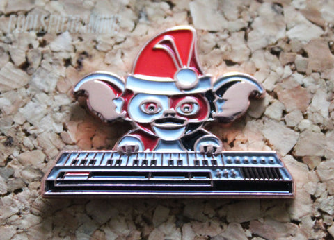 Gremlins Christmas Gizmo on Keyboard - Retro Pin