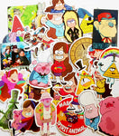 Gravity Falls 25 Piece PVC Sticker Set #2