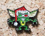 3D Glasses Gremlins Retro Pin