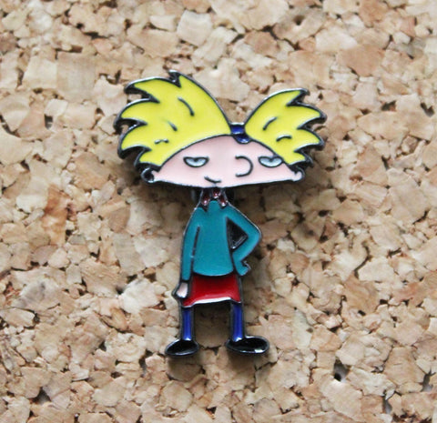 Hey Arnold! Character Pin Badge