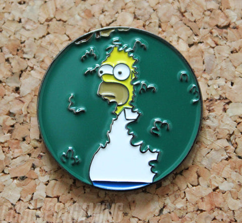 'Homer Backs Into Things' Meme Pin Badge