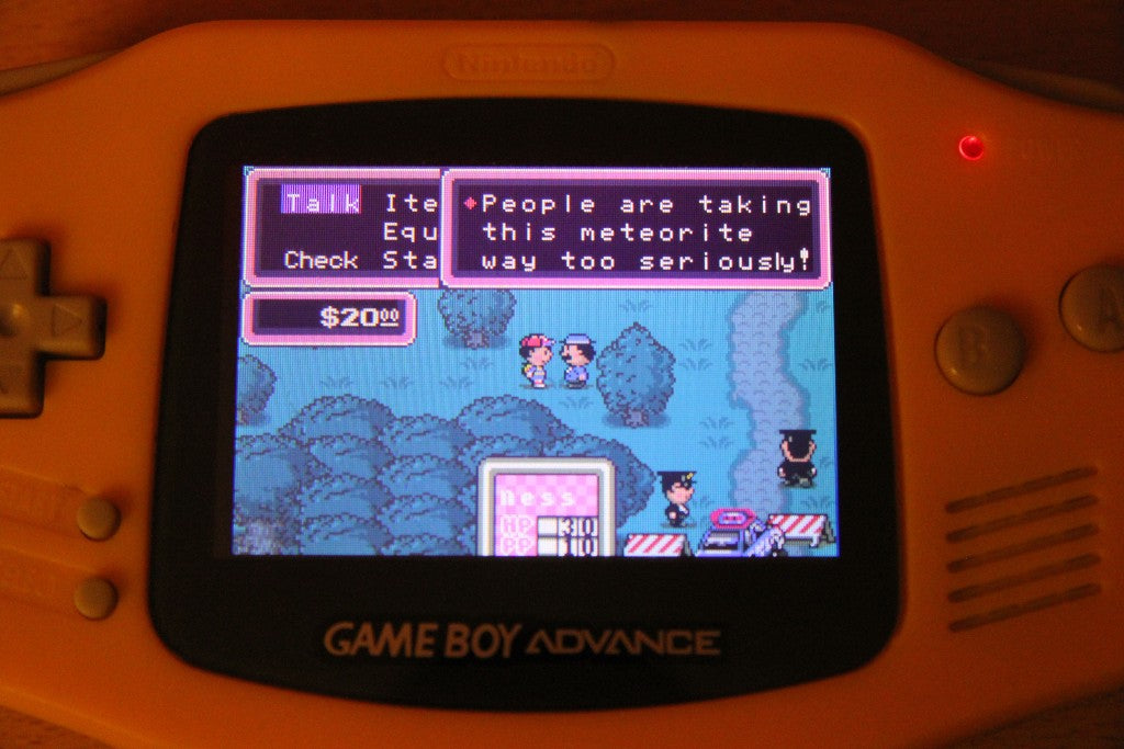 Mother 1, 2 and 3 for Gameboy Advance (GBA) English version