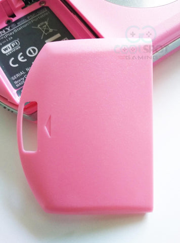PSP 1000 Replacement Battery Cover - Pink